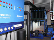 Direct system block ice making machine in container_6