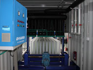 Direct system block ice making machine in container_7