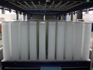 Direct system block ice making machine in container_8