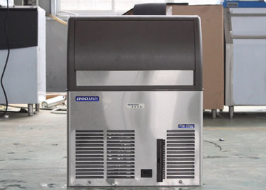 Self-contained cube ice machine