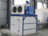 flake ice machine with ice storage_2
