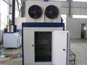 flake ice machine with ice storage_5