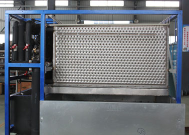Plate ice making machine