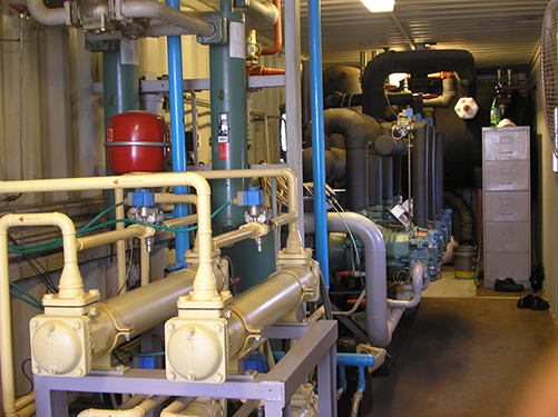 Ammonia system 1